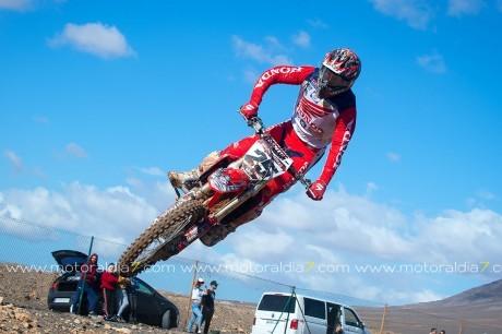 Bruno Darias campeón de Canarias de Motocross 2019