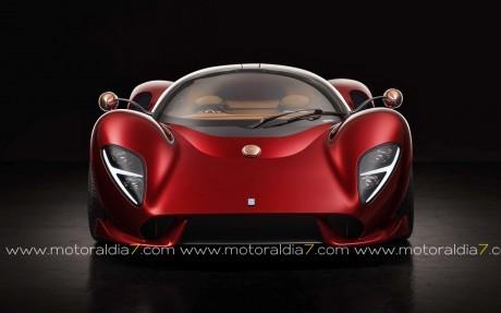 De Tomaso P72, 750 CV por 750.000€ sin impuestos