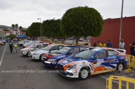Suspendido el Rally de Tierra de Gran Canaria
