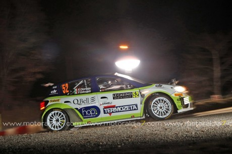 El primer R4 de Rallys 'made in Spain' debuta en Montecarlo