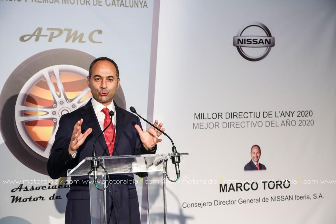 Marco Toro, Directivo del Año