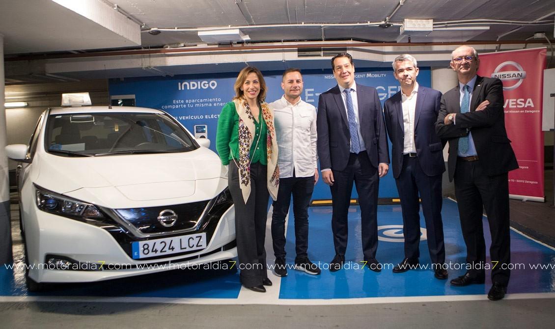 Nissan entrega su vehículo eléctrico 7.000 en España, un Nissan LEAF