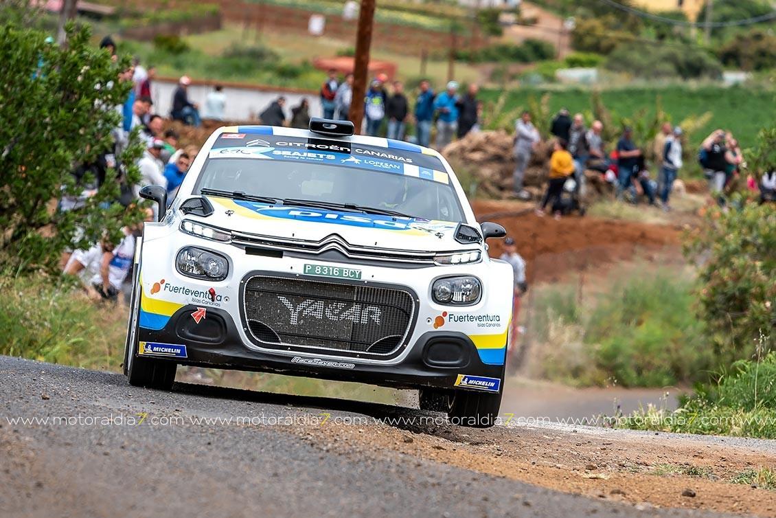 El Rally Islas Canarias anuncia premios en metálico para los equipos locales