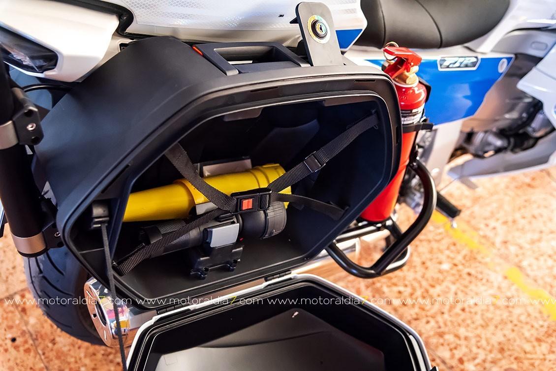La Policía Local ya dispone de las nuevas Yamaha FJR1300