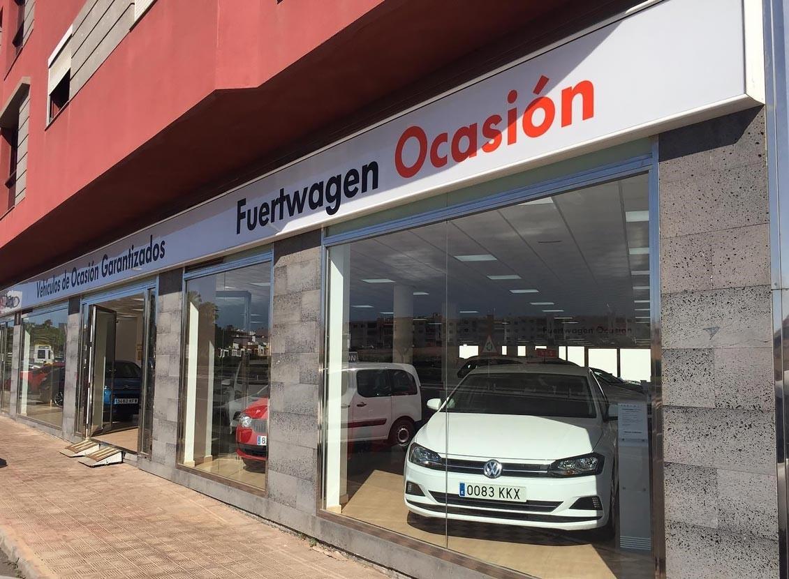 Das WeltAuto y Fuertwagen abrenen Fuerteventura.