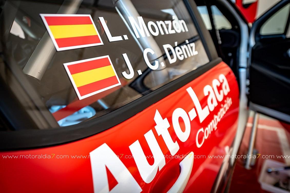 1º Tets Luis Monzón Citroën C3 R5