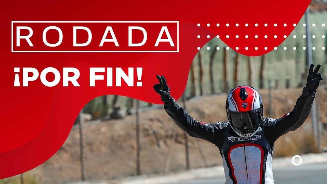 Ducati Canarias por fin vuelve a rodar