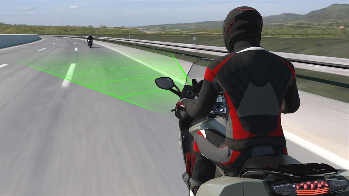 Control de Crucero Activo (ACC) de BMW Motorrad