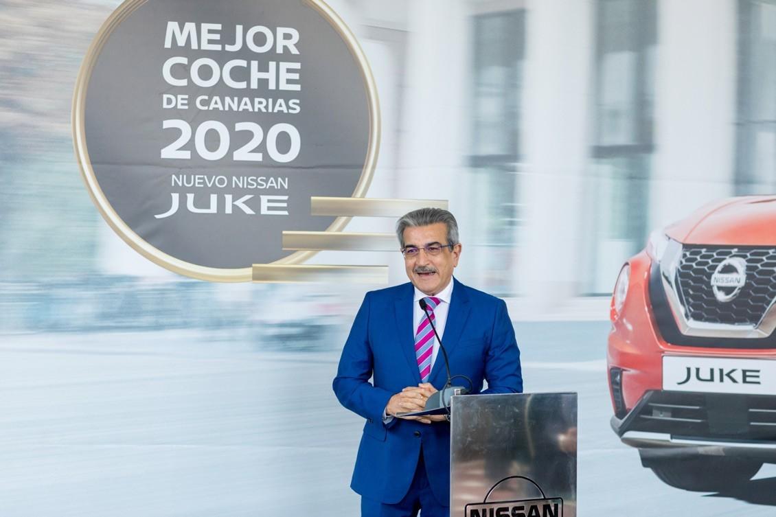 El Nissan JUKE, recibe su galardón en Canarias