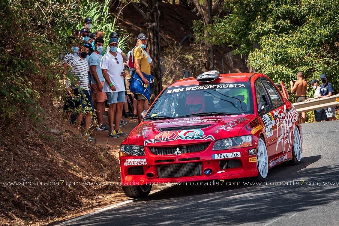 Cruz y Mujica vencen en el Rally Isla de Gran Canaria