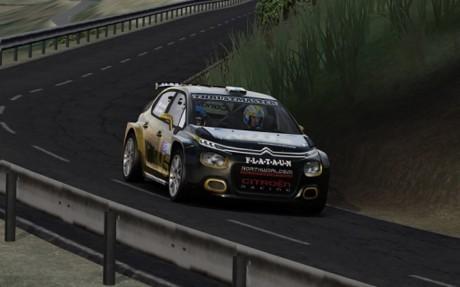Los canarios coparon el podio en el Rally RACC virtual