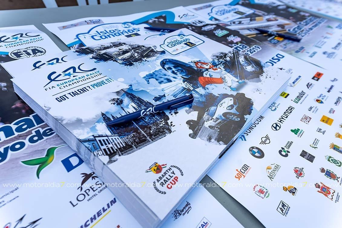 El Rally Islas Canarias al Estadio de Gran Canaria