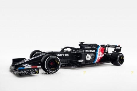 Este es el coche de Fernando Alonso