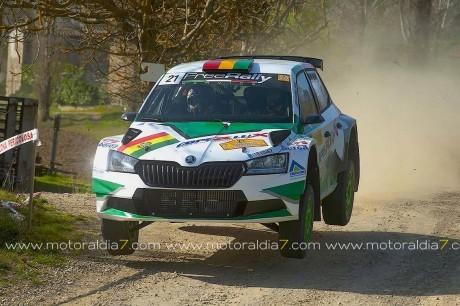 Bulacia y Peñate, podio en su primera prueba fuera de su país