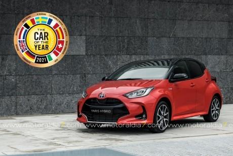 El nuevo Toyota Yaris, Coche del Año en Europa 2021