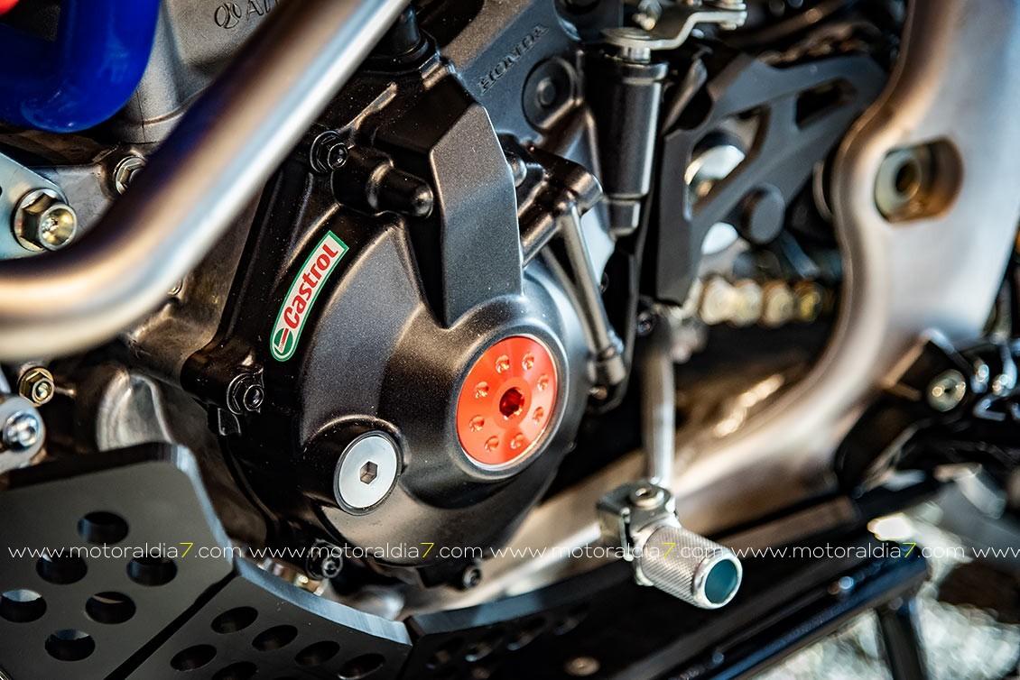 Honda Canarias muestra las nuevas CRF-RX Enduro 2021