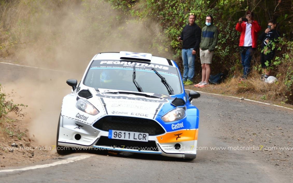 El CCRA comienza con lo mejor en el Rally Norte de Tenerife