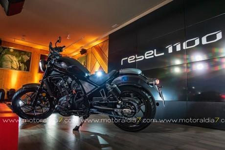 Rebel 1100, nacida para triunfar
