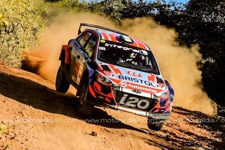 Rogelio Peñate se sube al podio en Paraguay