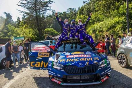 Suárez e Iglesias siguen imparables y ganan el Rally Rías Baixas