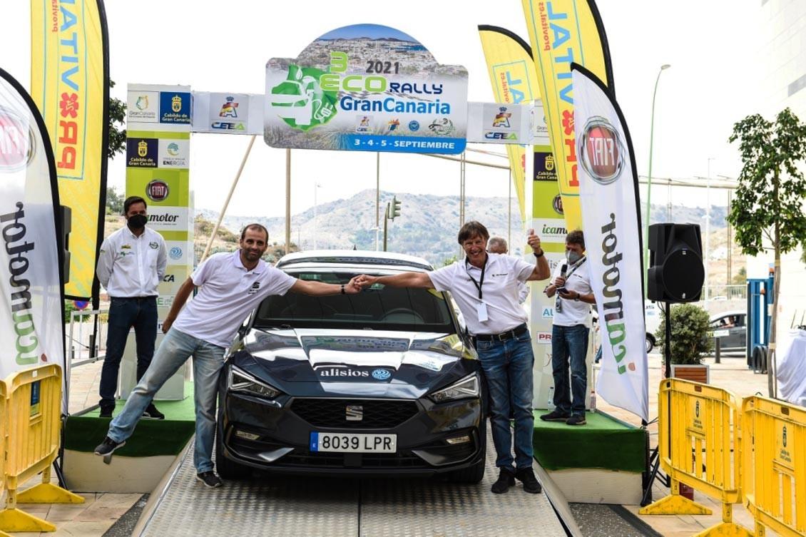 Conde y Serrano, vencedores del Eco Rally Gran Canaria