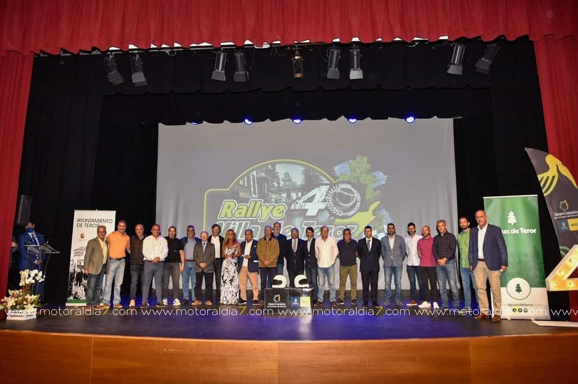 Rally Villa de Teror, presentó su 40º edición