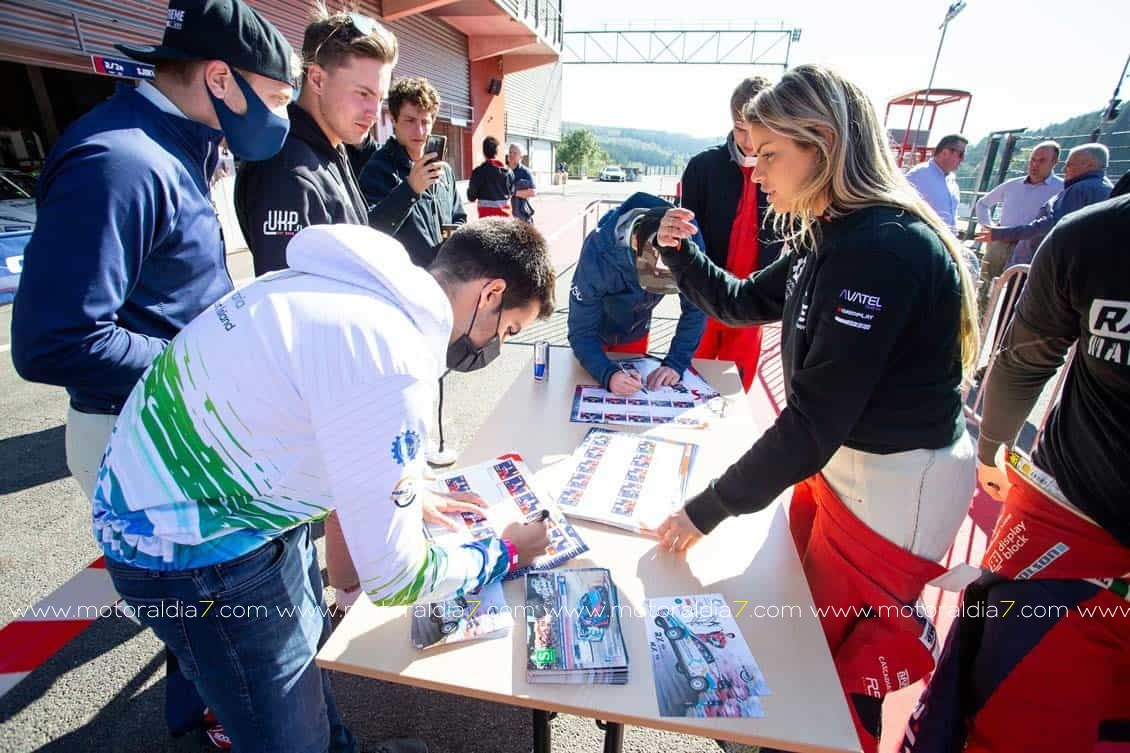 Pablo Suárez, ya es cuarto en el campeonato RX2e