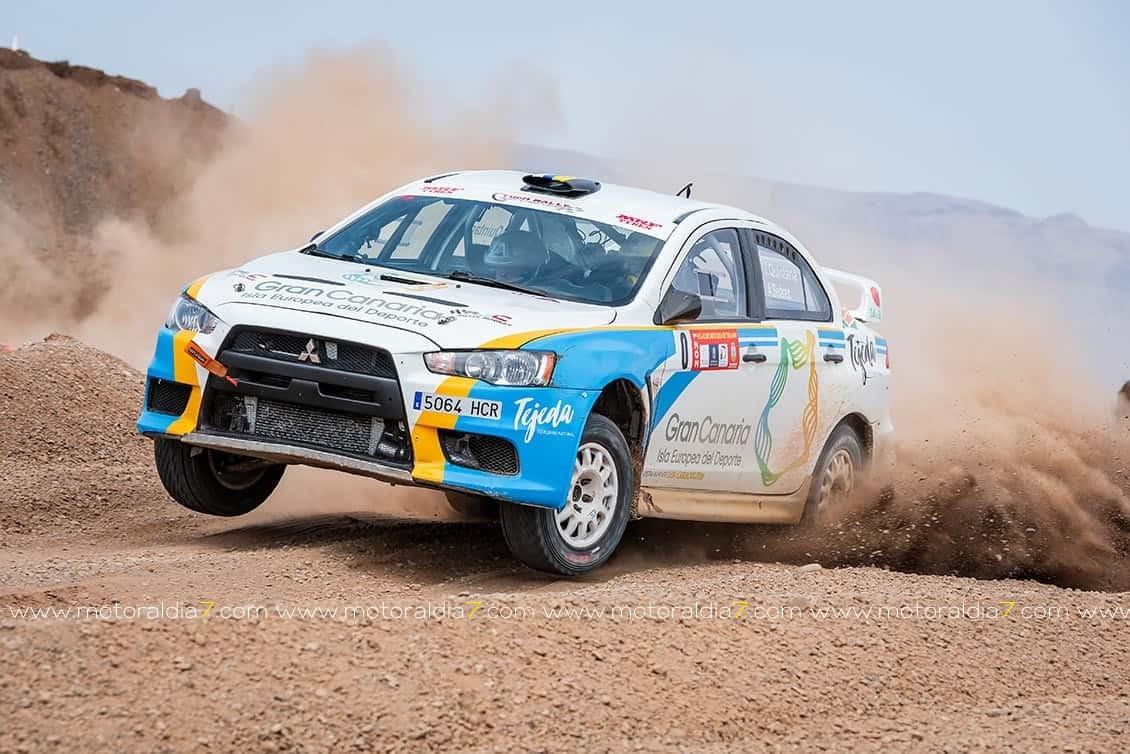 41 equipos en El Rally Gran Canaria de Tierra