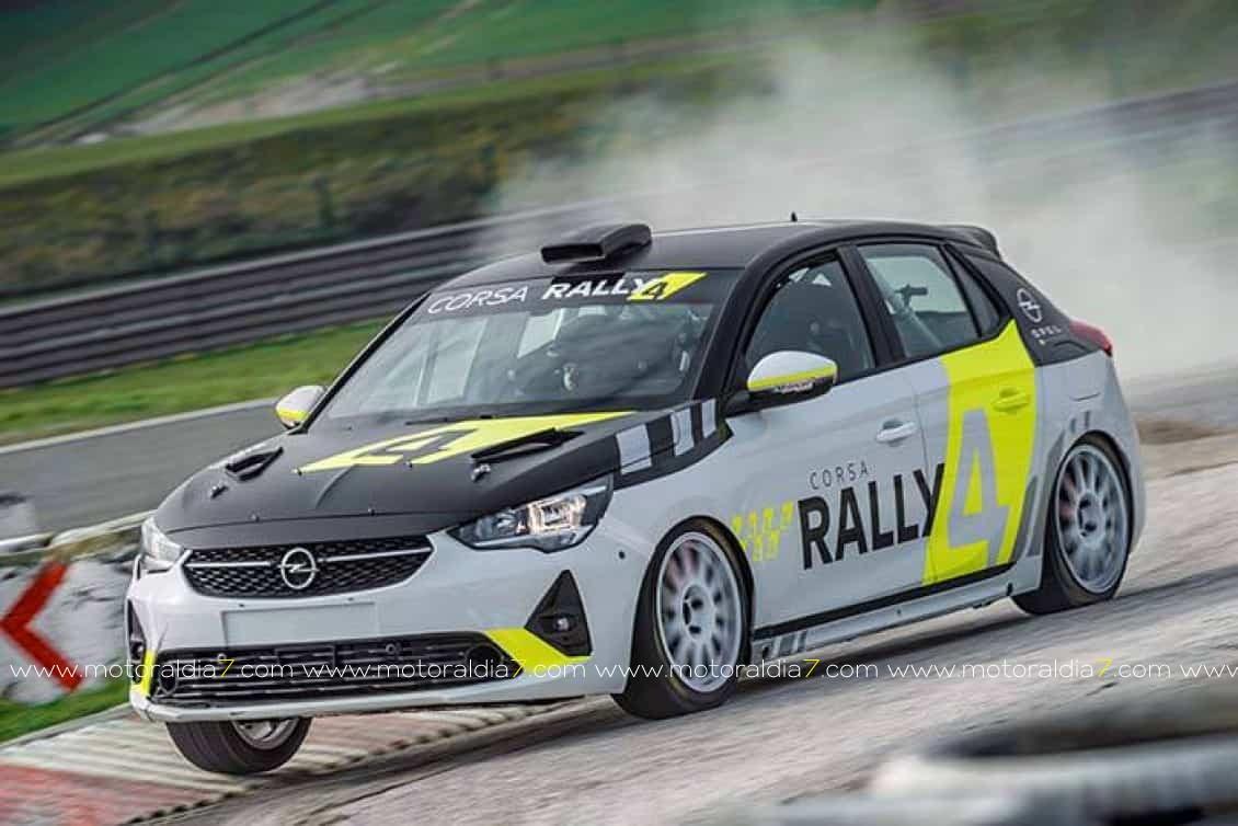 Opel Corsa Rally4 debutará en Tenerife con Giovanni Fariña