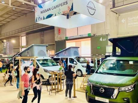 Nissan NV300 Camper, la gran viajera