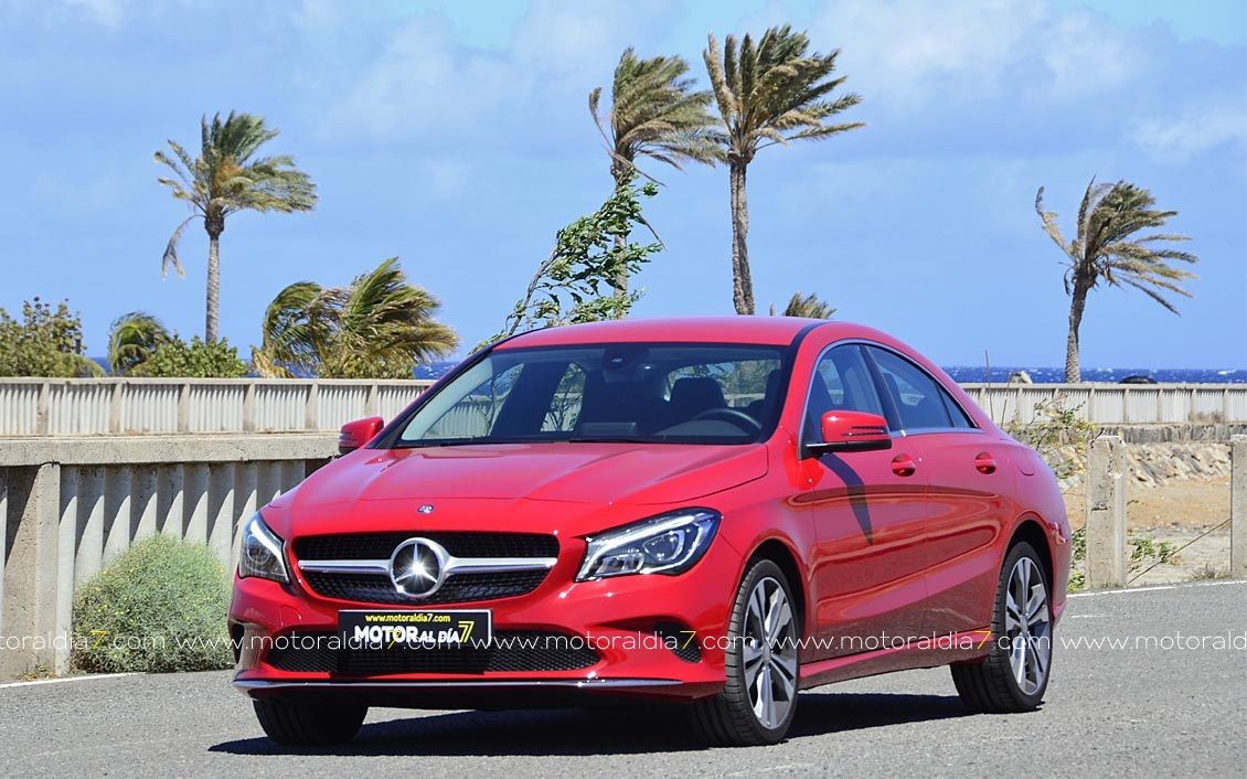 Una berlina con estrella deportiva, Mercedes CLA