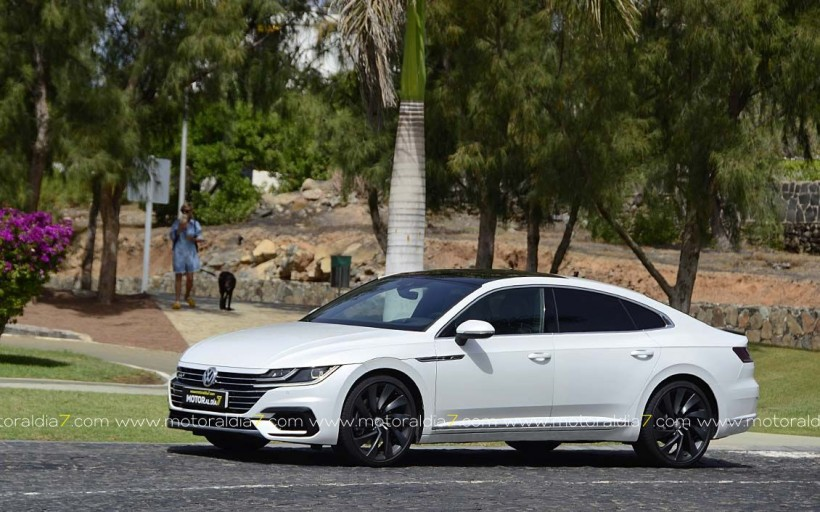 VW Arteon, una berlina que quiere ser coupé