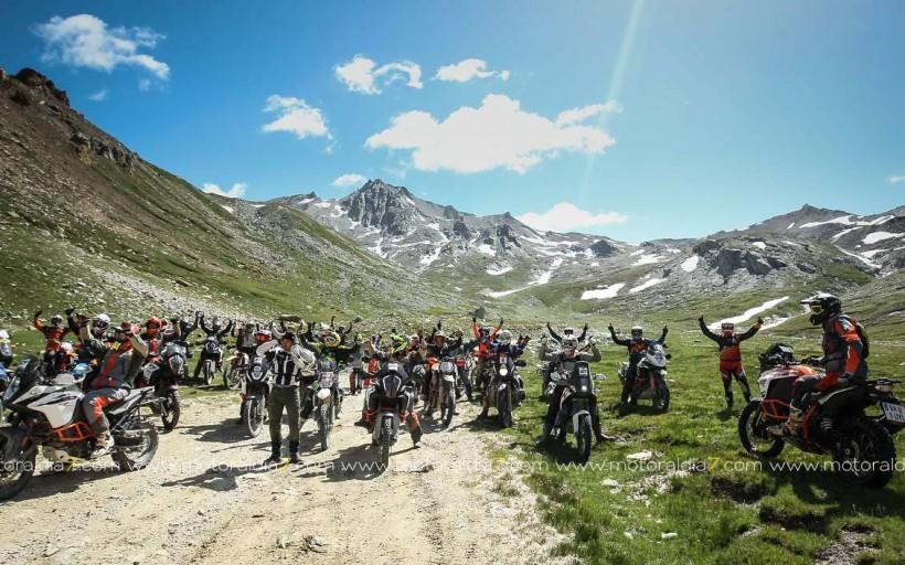 Gran éxito del 1º KTM Adventure Rally Europeo
