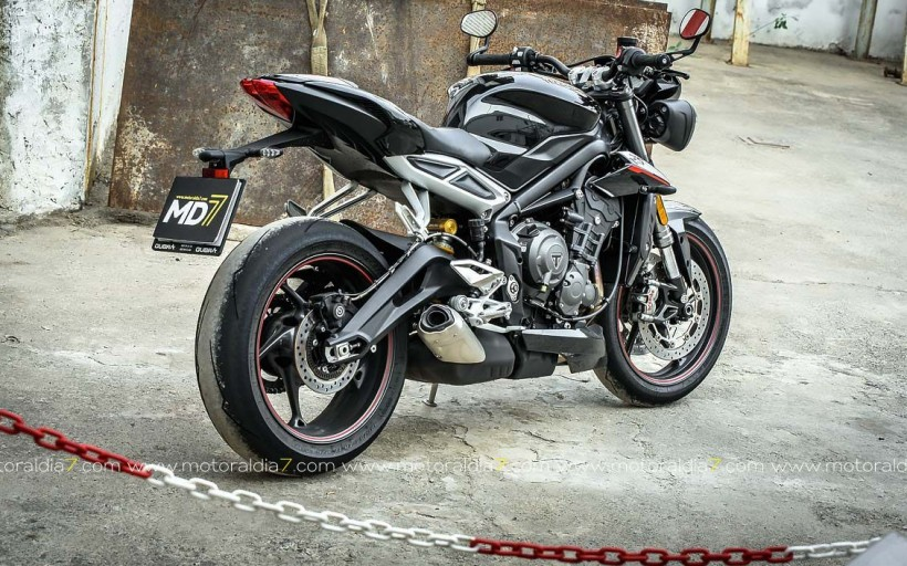 Triumph Street Triple RS, La Fiera