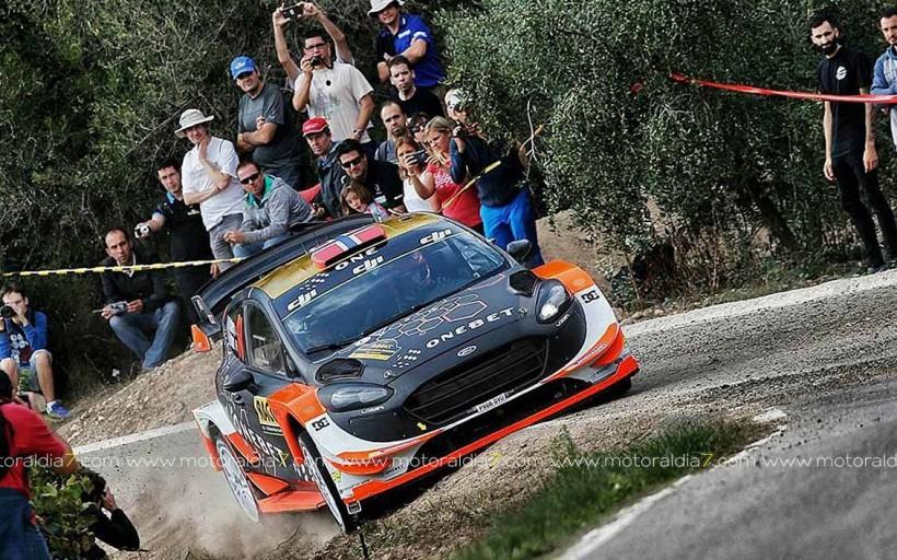 Kris Meeke y Paul Nagle vuelven a ganar con el C3 WRC