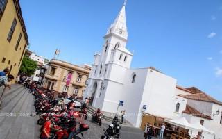 El pueblo de los Silos se volcó con los Ducatistas