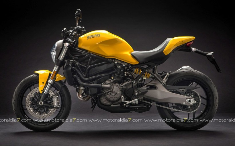 Ducati desvela una renovada Monster 821