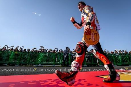 Marc Márquez se coronó campeón mundial 2018 en Motegi