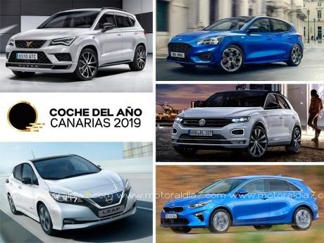 Cinco automóviles aspiran al galardón en 2019