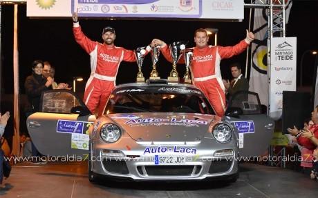 Lemes y Bonilla fueron los más rápidos con el Porsche de Auto Laca