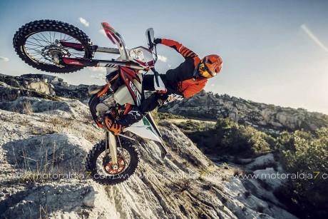 KTM lanza una nueva generación de máquinas de Enduro